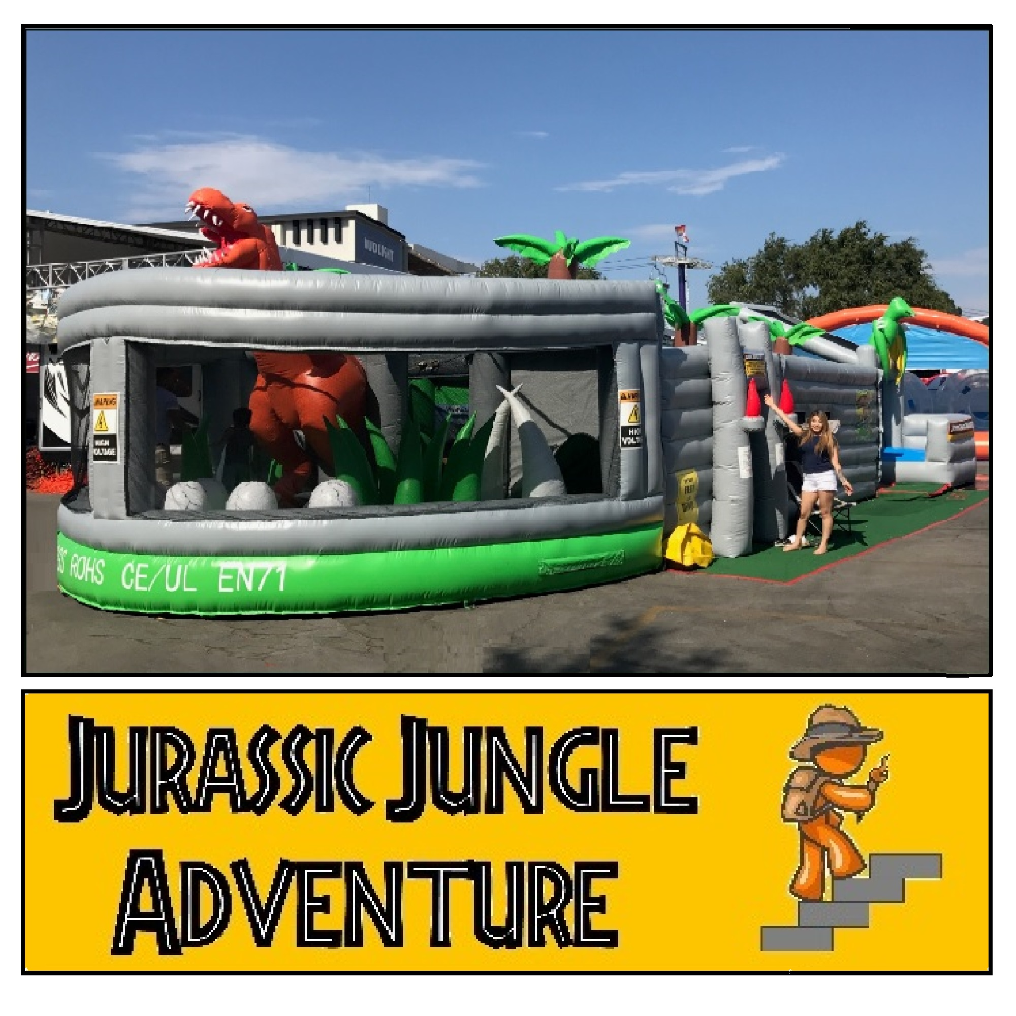 Jurassic Jungle Maze Adventure