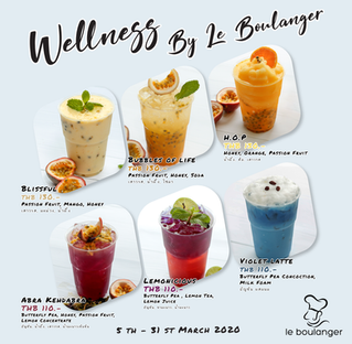 """""""Wellness by Le Boulanger"""""""