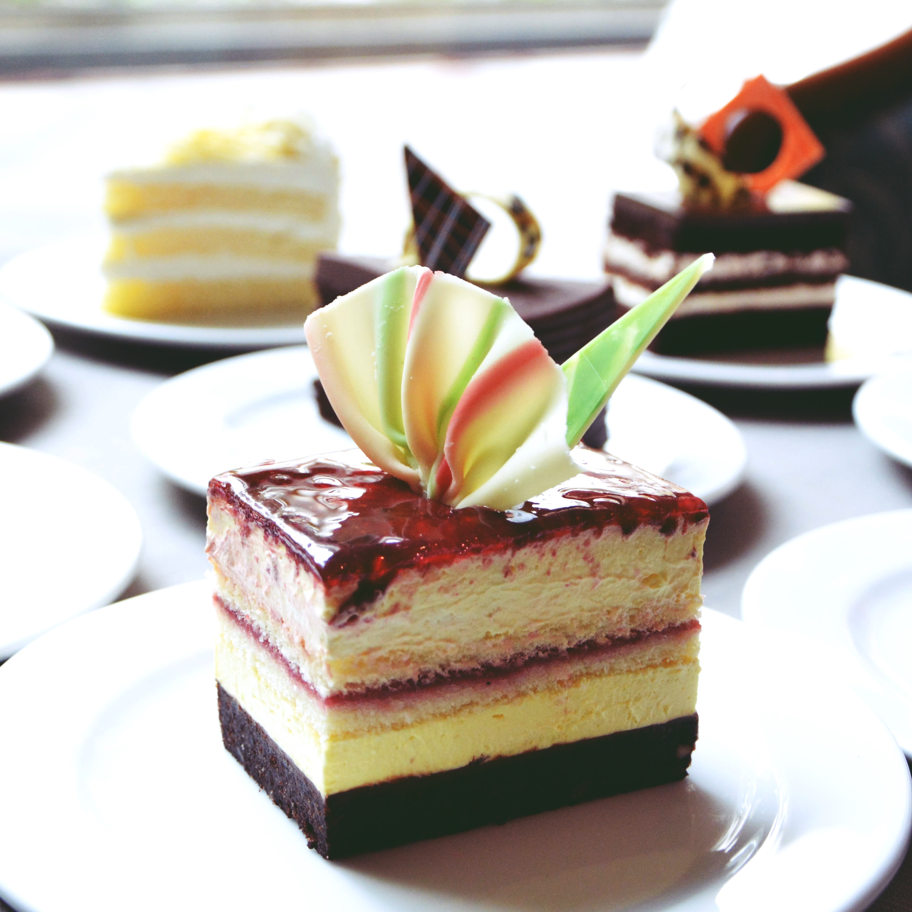 Raspberry Lime Cake