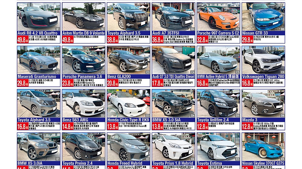 2020 Aug 1 all cars for sell