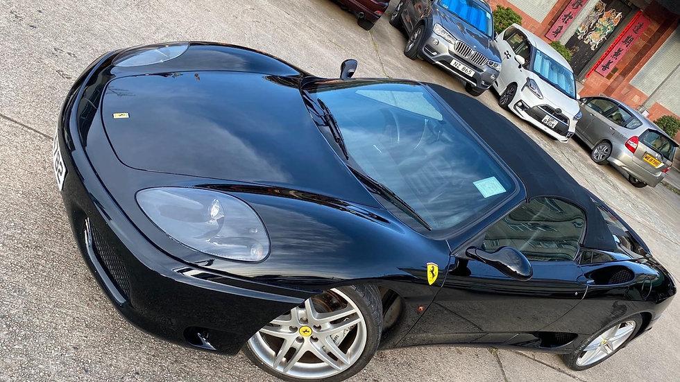 2002 Ferrari F360 Spider