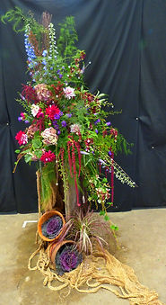 Flower arranging, nafas