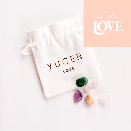 Crystal Affirmation Pack   (I am Love)