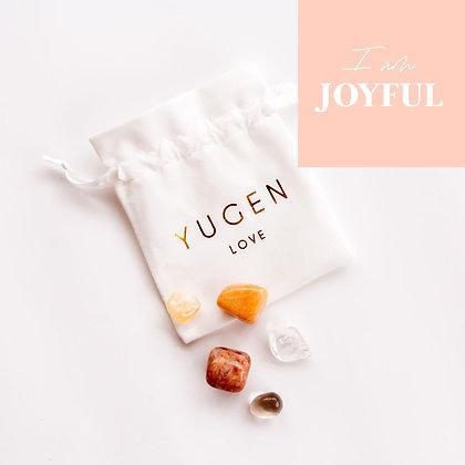 Crystal Affirmation Pack  (I am Joyful)