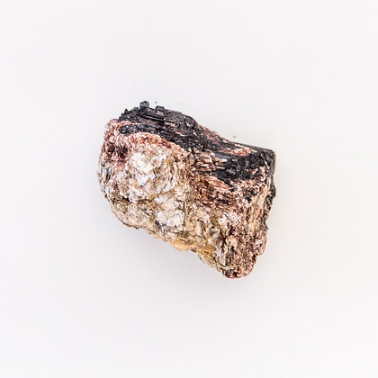 Pyrite with Black Tourmaline