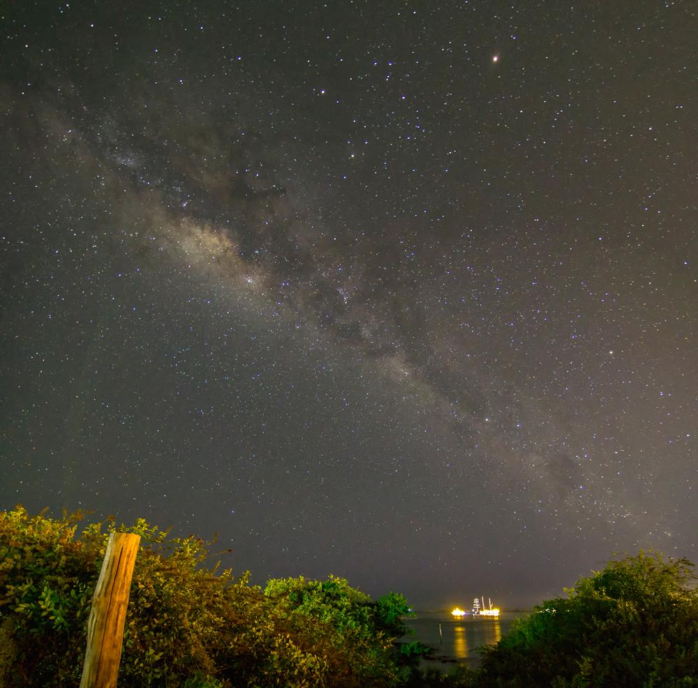 Vía Láctea y Academy Bay