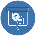 Financial planification icon