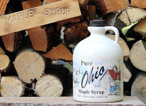 100% Pure Maple Syrup -1/2 Gallon