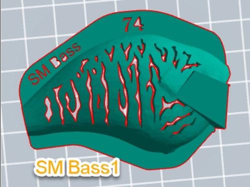 S Crank Small Bass 1 stencil