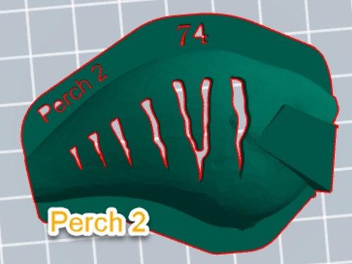 S Crank Perch 2 stencil
