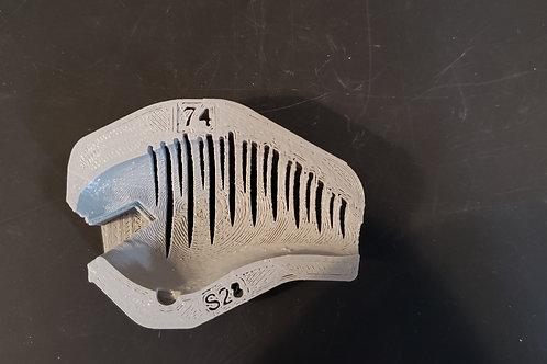 S Crank Stripe 28 Stencil