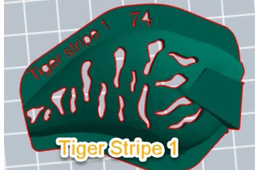 S Crank Tiger Stripe 1 stencil
