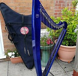 For Sale Electric Camac Harp, careful lady owner