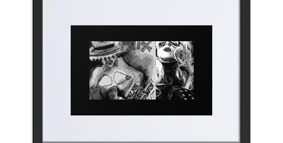 Dominartist Trix from the Graphic Novel Pop Art Genre Modern Wall Art Print