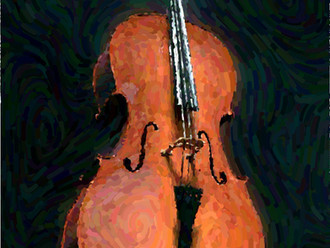 Blue Danube Practice Buddy Session with Sarnia, cello, piano, guitar