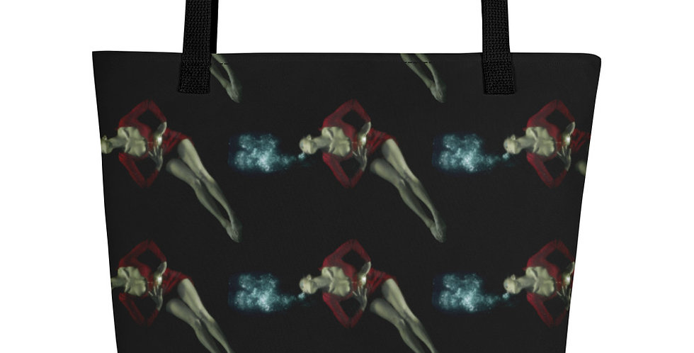 Fanny Blomme Designer Bag Fashion Tote Beach Shopper Black Swimmer