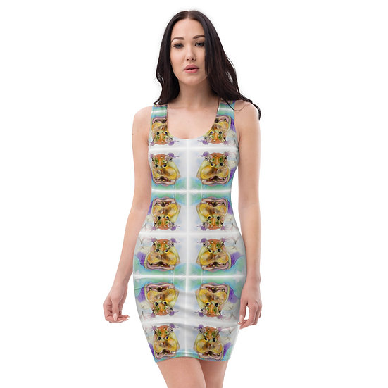 endangered animals save hippo eco dress dominartist limited editions