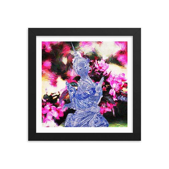 Thai Roses by Sarnia Cherie Square framed fine art print