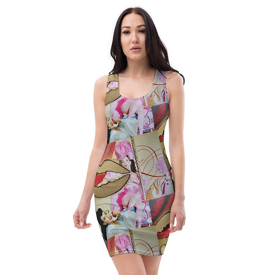 Dita von Teese limited edition art dress by dominartist investment alternative art to hang or wear