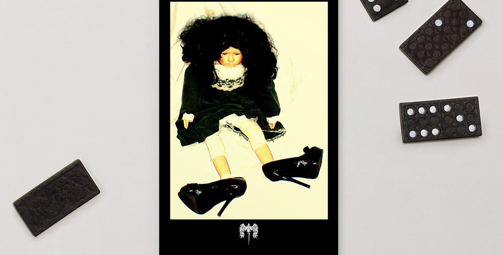 Photography Fine Art Postcard, Dolly in High Heels