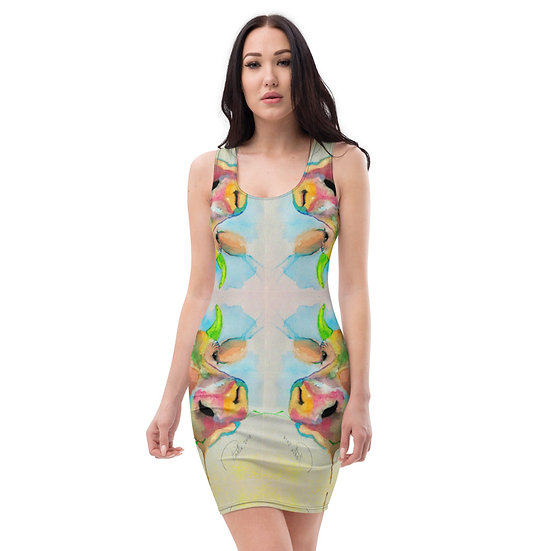 Moo Cow save the animals vegan dress by Fanny Blomme for Dominartist Project