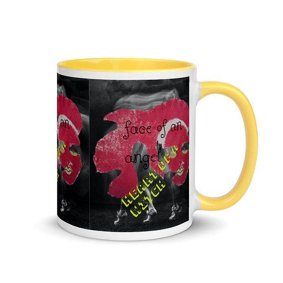 angel witch mug all colours alternative gift ideas designer chic dominartist