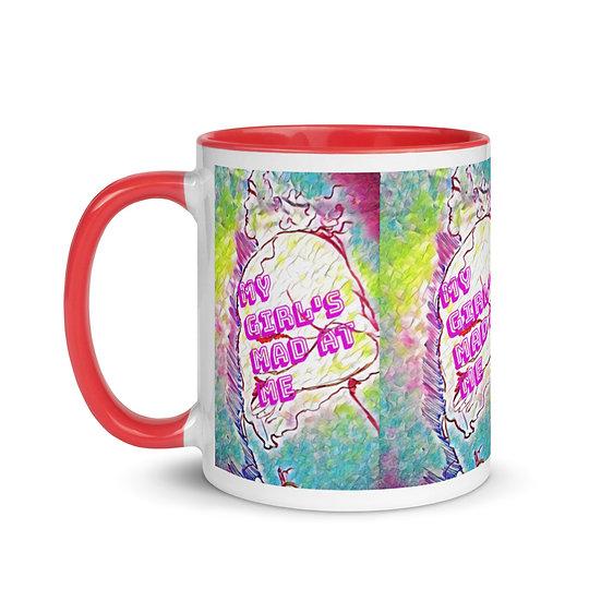 mad girls designer mug dominartist design rare unusual gift him her mum dad