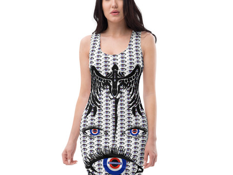 Dominartist makes art dresses.