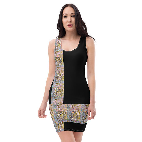musician abstract art dress by dominartist investment clothing