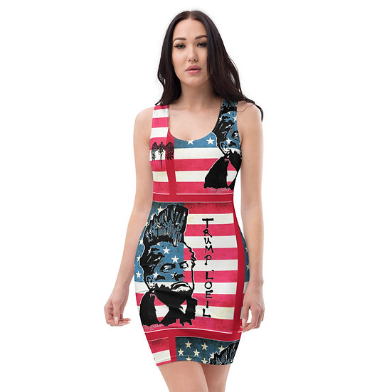 Donald Trump Protest Dress by Dominartist