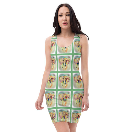 ecofam eco warrior save the elephant dress by dominartist collectors