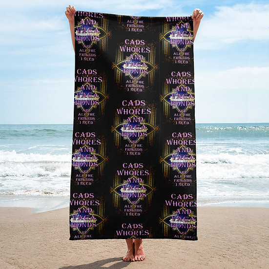 Towel for rebels from the Dominartist™ collection