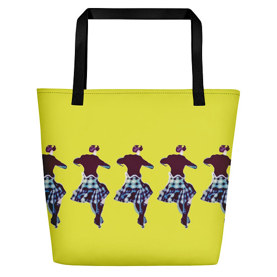 Beach Bag Shopper Tote Large Fanny Blomme