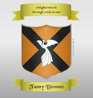 Fanny Blomme crest idea by the Dominartist