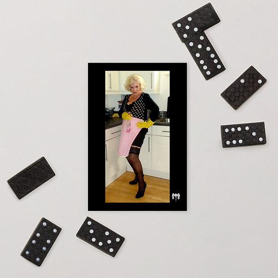Portrait of Grandma Standard Postcard