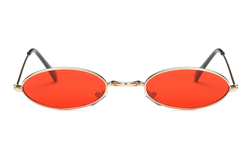 Midge sunglasses small coloured ovals