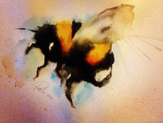 The Flight of the Bumblebee, this week's project at the Tale Teller Club, daily updates