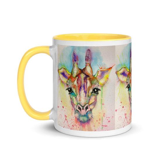giraffe designer mug dominartist fine art kitchenware dining