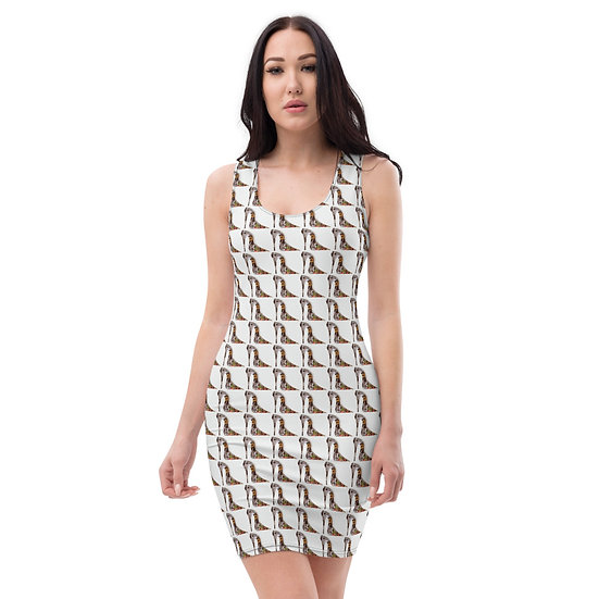 biba shoe collage Dominartist fitted dress spandex pencil fitted high quality eco