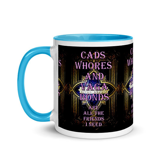 Mug with Color Cads and Whore's Mug by Dominartist™