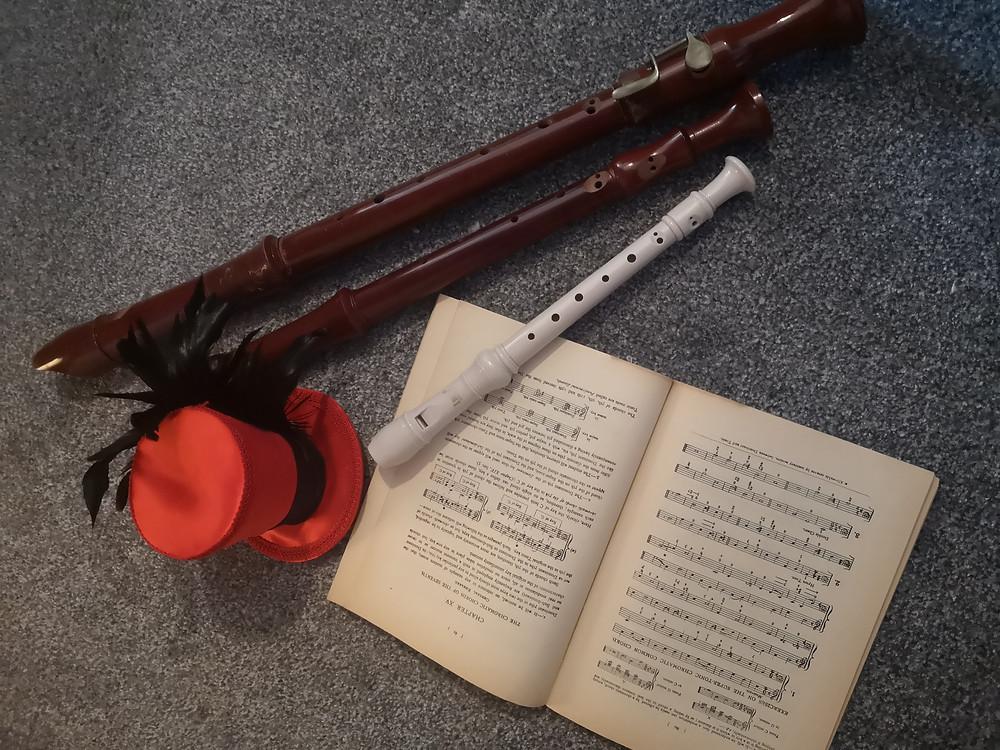 three recorders alto tenor soprano sarnia de la mare teacher