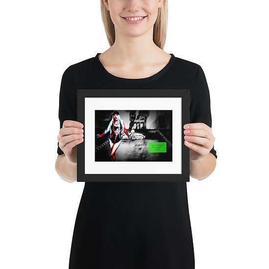 Buy The Rights Series Framed Print Dominartist Swimming
