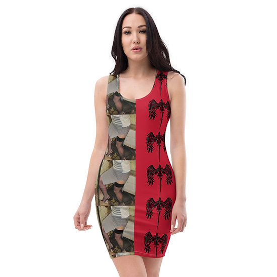 rare single issue dress by dominartist radical contemporary feminist photographer
