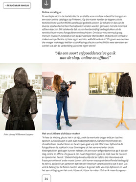 Wildebloumkes in e- magazine Erfgoedpartners 4-2018 pag. 2