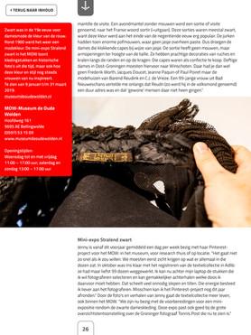Wildebloumkes in e- magazine Erfgoedpartners 4-2018 pag. 4