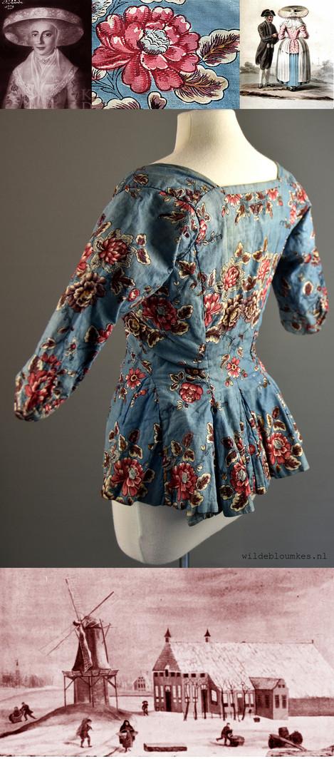 Hemels jasje uit de 18e eeuw