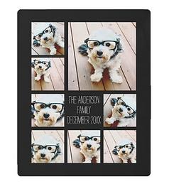 Create a Custom Photo Collage with 8 Photos Metal Print