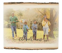 Personalized Wood Photo Panel