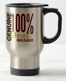 Genuine Diesel Mechanic Travel Mug