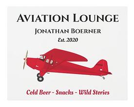 Vintage Airplane Man Cave Pub Metal Art Sign.